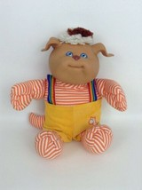 "Cabbage Patch Kids 14"" Koosas Boy Dog Puppy Striped Suspenders Doll Coleco 1985 - $25.69"