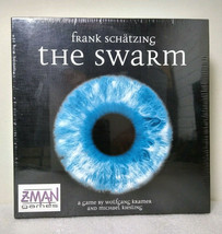 Frank Schatzing The Swarm Mystery Solving Board Game Z-Man Games NEW - $21.99