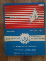 1987 Star Trek Line Officer Training Book - Autographed by Walter Koenig! - $100.00