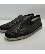 UGG Womens Sandrinne Metallic Espadrilles Slip On Shoes Black Size US 7 ... - $44.52