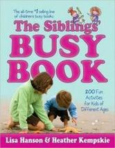 The Siblings' Busy Book by Lisa Hanson 36 pcs sku# 1793350MA - $110.53