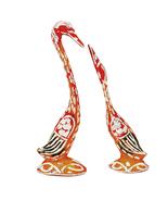 Colored Swan Pair Decorative Item Love Birds Set of 2 pcs - $21.99