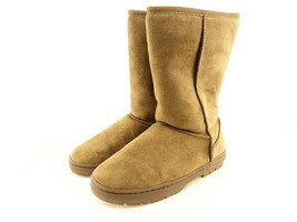 Journee Collection Womens Winter Boots Tan Size 8 M - $29.59