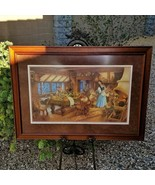 RARE Scott Gustafson Snow White and the Seven Dwarves Signed Print #1854 - $395.00