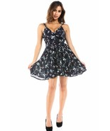 Salt Tree Women's Ditsy Floral Open Chest Linen A-Line Dress US Seller - $39.99