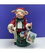 Londonshire pig cousin nigel figurine santa claus statue england possibl... - $84.15