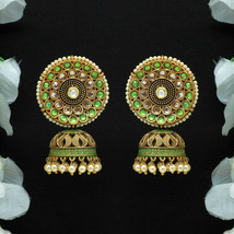 Unique Indian Handmade Crafted Tribal Jhumka Women Fashion Dangle Earrings - $14.99