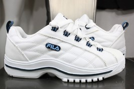 vintage Fila sneakers 7 6.5 new leather white 90's  - $59.94