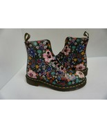 Womans DR Martens boots pascal black mallow pink size 7 us - $197.95