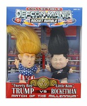 Defcon-Mania Global Toy Trump vs Kim Jong-un Collectible Troll Doll Set - $19.30