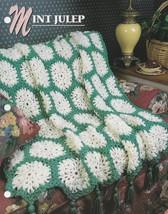 Mint Julep, Annie's Attic Crochet Quilt & Afghan Pattern Club Leaflet QA... - $5.95