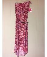 6 degrees Summer/Beach Strapless Maxi Dress S, M - $6.99