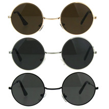 Kids Childern Size Metal Rim Round Circle Lens Hippie Sunglasses - $9.95