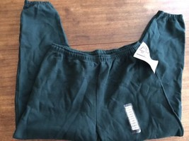 Vintage Pluma Sweatpants NWT New  Forest Green Dead Stock Heavy Weight XL - $24.22