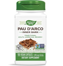 Nature's Way Pau D'arco 1090 mg per Serving 100 Vegan Capsules - $32.87