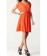 M60 Miss Sixty Dress Sz 2 Salmon Orange Pink Empire Waist Cocktail Casua... - €55,71 EUR
