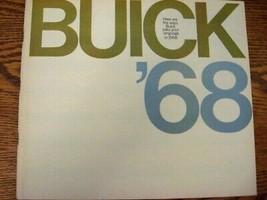 1968 Buick Deluxe Brochure Xlnt, GS350, 400, Wildcat 73 pgs ORIGINAL GM - $31.70
