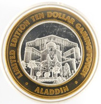 United states of america Silver Coin Limited edition ten dollar gaming t... - $49.00