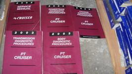 2003 Chrysler PT Cruiser Riparazione Negozio Servizio Officina Manuale S... - $59.36