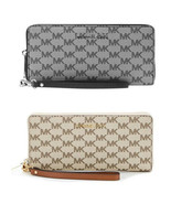 Michael kors jet set travel continental wristlet logo wallet luggage  NWT - $73.00