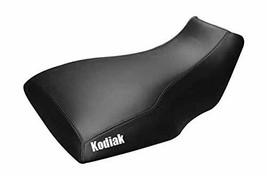 Yamaha Kodiak Big Bear 350 400 Seat Cover Black Color Kodiak Logo - $44.99