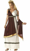 California Costumes Roman Empress Woman Adult Costume Small 6-8 Dress Medallions - $28.04