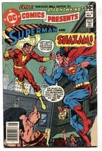 DC Comics Presents #33 comic book - SHAZAM / SUPERMAN 1981 - $16.73