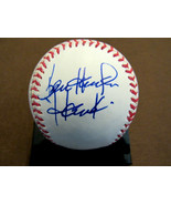 KEN HARRELSON HAWK WHITE SOX JAKE PEAVY STEVE STONE SIGNED AUTO BASEBALL... - $197.99