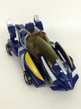Power Rangers Jungle Fury Blue Tiger Thunder Roar Transforming Car Bandai 2007 - $20.44