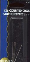 Annie's Choice #26 Cross Stitch Needles (set of 4) NIP - $1.77