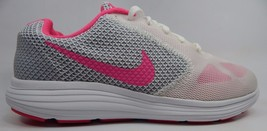 Nike Revolution 3 Women's Running Shoes Size US 8.5 M (B) EU 40 White 819303-101