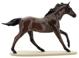 "Hagen-Renaker Miniature Ceramic Horse Figurine Thoroughbred ""Seabiscuit"" image 3"