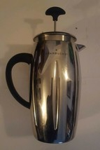 Starbucks Barista 2003 Stainless French Coffee Press Pot 32oz Mirror Finish - $57.22