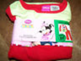 Size 18 Months Disney Minnie Mouse Holiday Flannel Pajamas Set Top Pants... - $12.00