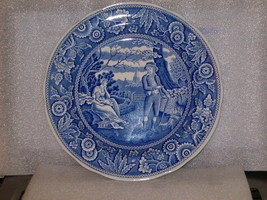 """SPODE BLUE ROOM COLLECTION """"WOODMAN"""" DINNER PLATE - $20.00"""