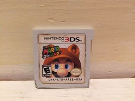 Super Mario 3D Land (3DS, 2011) Game Cartridge Only - $11.64