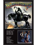 "Molly Hatchet ""MOLLY HATCHET"" First Self Titled Album Stand-Up Display - $15.99"
