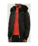 Moose Knuckles Down-Blend Hooded Bomber Jacket, Black, Small - $841.50