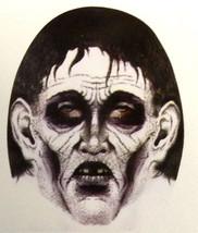 Creepy Zentai Morph Adult ZOMBIE MASK Horror Cosplay Costume Accessory-T... - £2.92 GBP