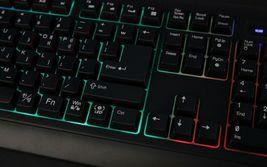 QSENN GP-K5000LED USB Wired Korean English Keyboard for PC image 6