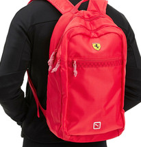 Puma Scuderia Ferrari Fanwear Bag Laptop Sleeve Sports Car Zipper Backpack image 2