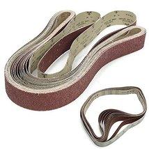 14 Pack 2'' x 72'' (5x180cm) Sanding Belt 36 60 80 120 240 400 600 Grit ... - $64.34