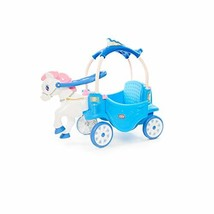 Little Tikes Princess Horse & Carriage - Frosty Blue Ride-On - $141.31