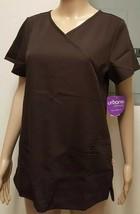 Womens Urbane Ultimate Scrub Top Brown Size Small NWT RTLP $38.48 - $14.84