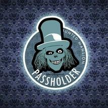 HomeMade Disney Annual Passholder Haunted Mansion Hatbox Ghost AP Magnet Fan-Art - $8.95