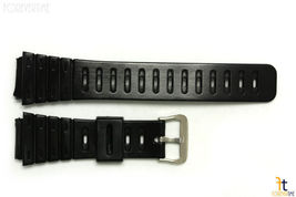 20mm Fits CASIO DW-240 G-Shock Black Rubber Watch BAND Strap DW-200 DW-260 - $9.85