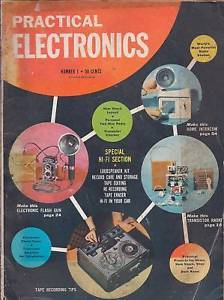 Primary image for Practical Electronics copyright 1957  Fawcett pub.