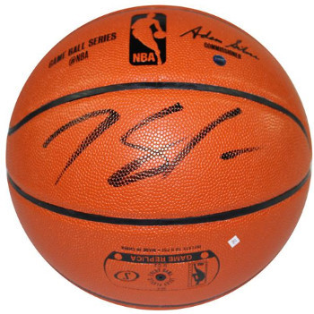 Karl-Anthony Towns signed Spalding NBA Indoor/Outdoor Basketball (signed in blac