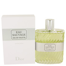 Christian Dior Eau Sauvage Cologne 6.8 Oz Eau De Toilette Spray  image 4