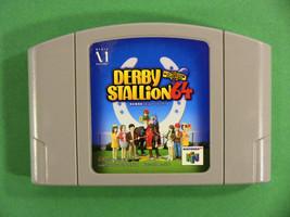 Derby Stallion 64 (Nintendo 64 N64, 2001) Japan Import - $4.45